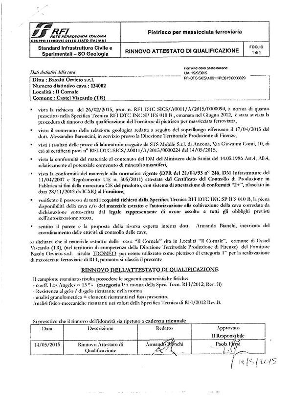 Ballast Ferroviario Qualifica_triennale_RFI-2015_P_2